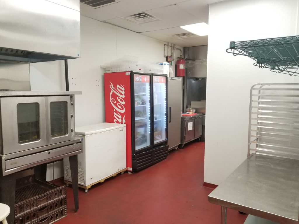 Rental space will include your own refrigerator and chest freezer.